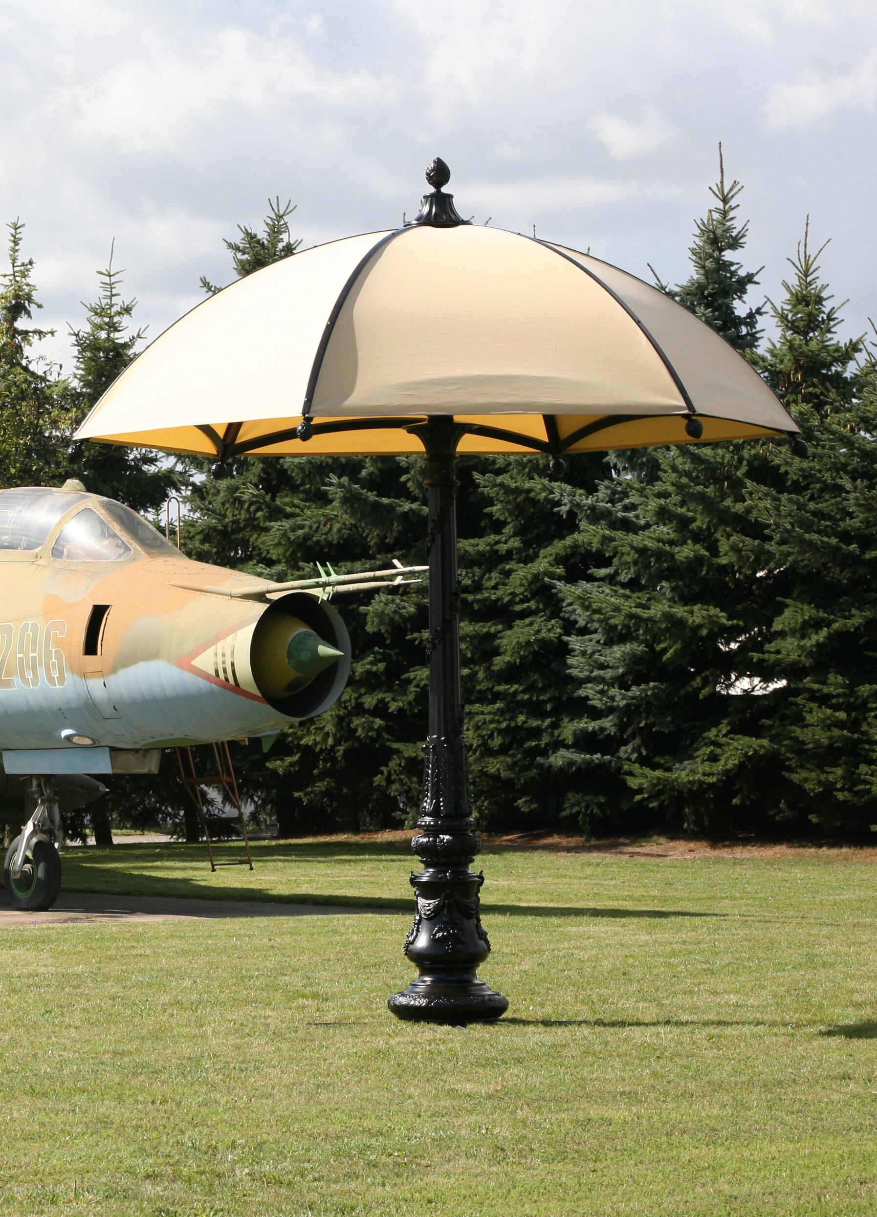 ekskluzywny parasol ogrodowy