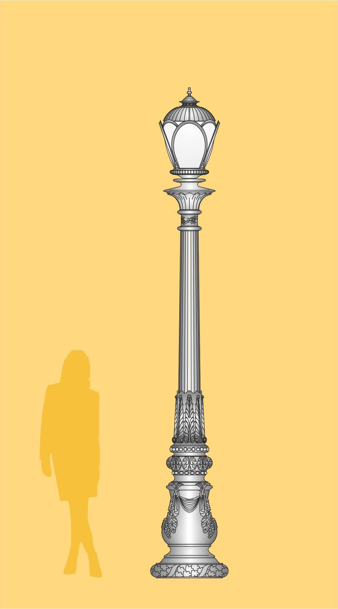 ekskluzywna latarnia ogrodowa, latarnia LED, oświetlenie ogrodowe